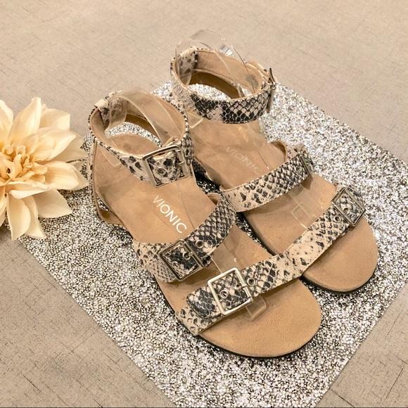 6ca994b048449 Vionic Tan Rest Sahara Backstrap Sandals Leather